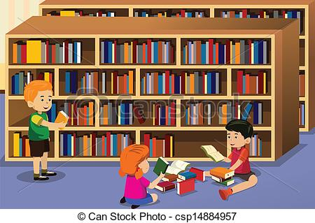 clipart of library