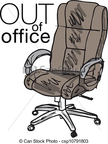 Clipart Of Out Of Office Vector Illustra-Clipart Of Out Of Office Vector Illustration Csp10791803 Search Clip-2