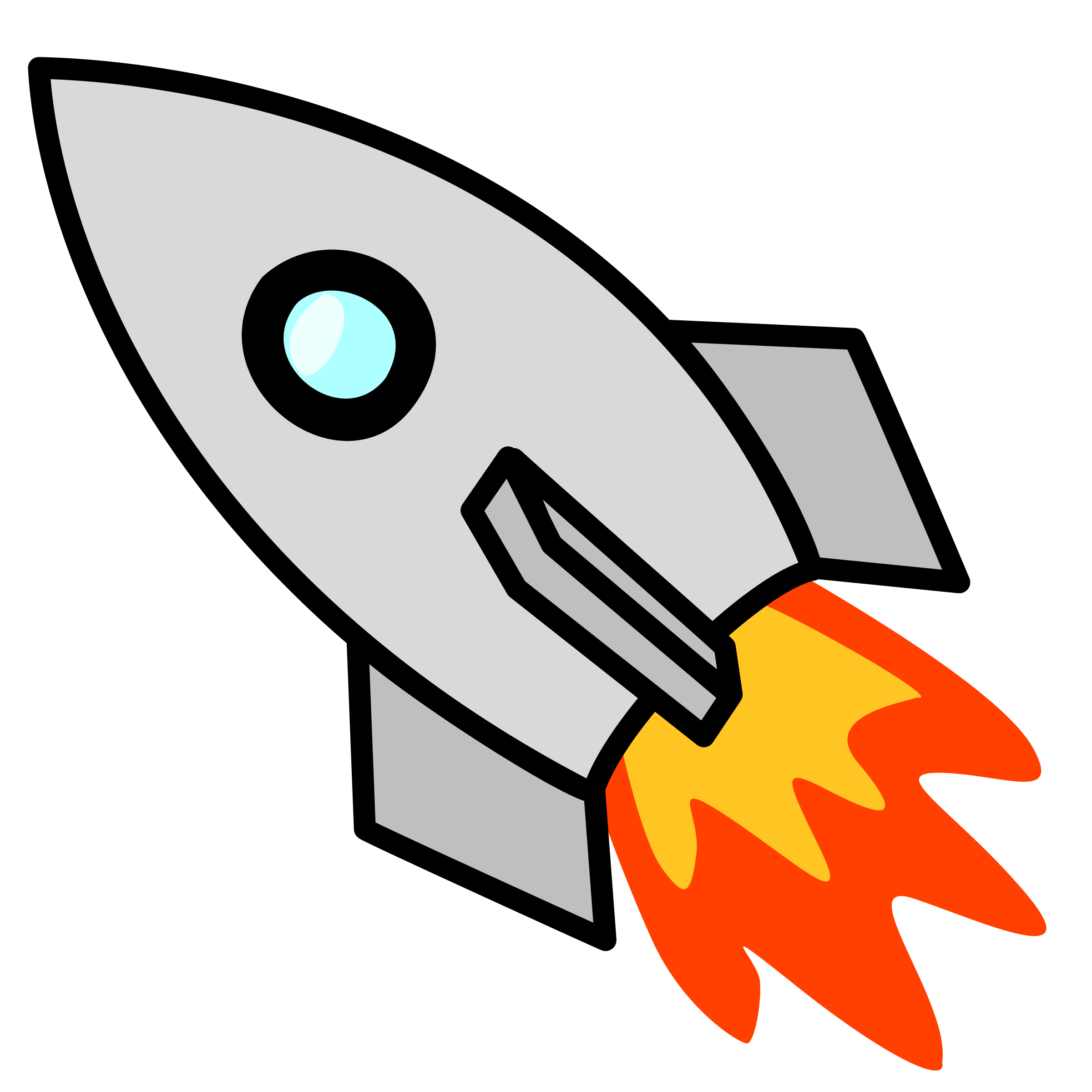 Clipart Of Rocket Ship Shapes Clipart Best