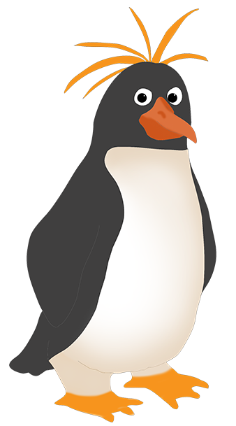 clipart of Royal penguin ...