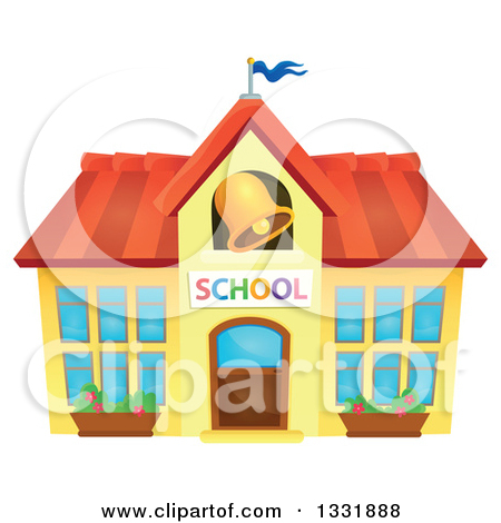 clipart of school