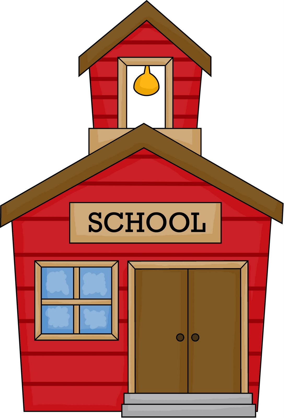 clipart of school. school house images