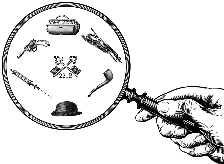 Clipart Of Sherlock Holmes-Clipart Of Sherlock Holmes-1
