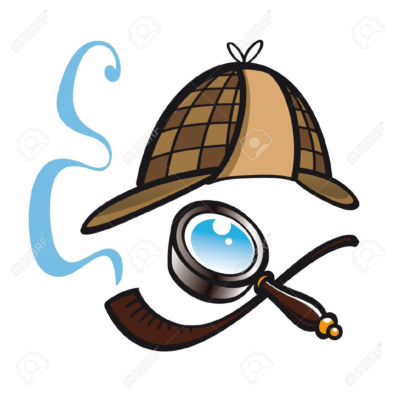 Clipart Of Sherlock Holmes