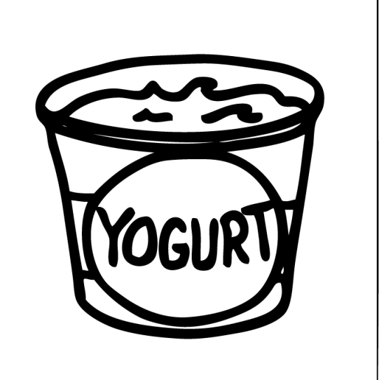 Clipart Of Yogurt-Clipart Of Yogurt-2
