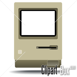 Clipart Old Mac Computer