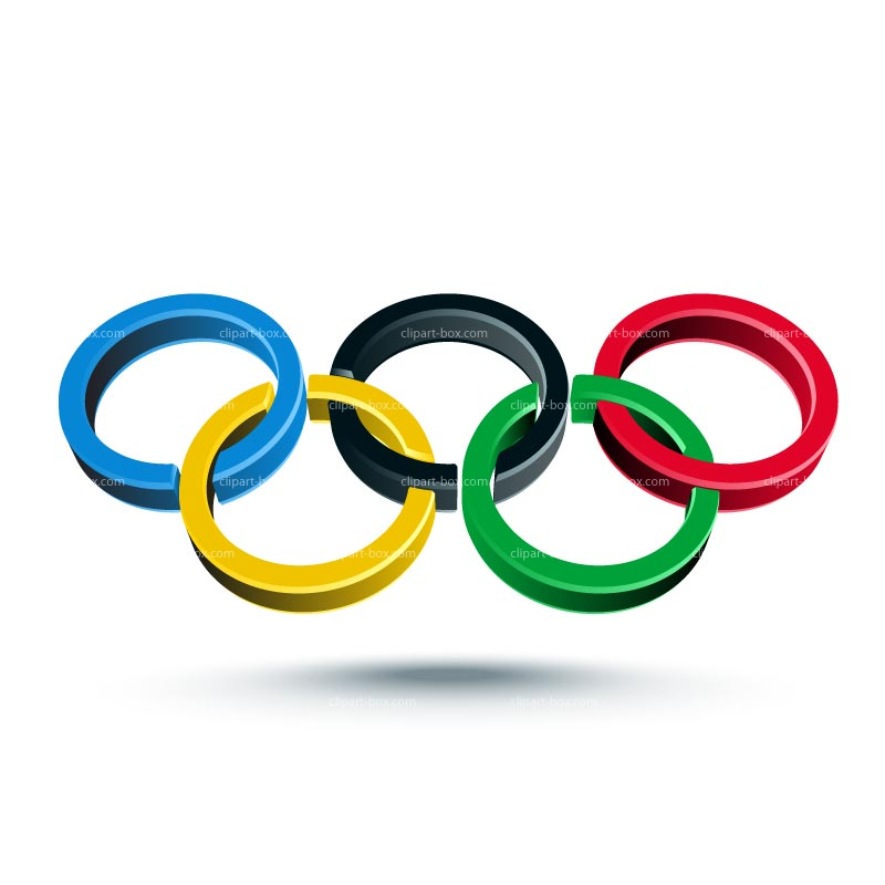 Clipart Olympic Rings 3d Royalty Free Ve-Clipart Olympic Rings 3d Royalty Free Vector Design-1