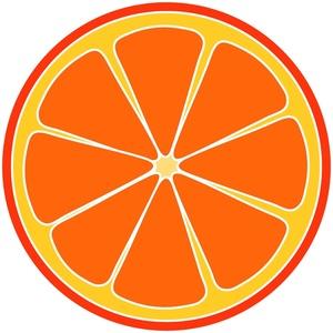 Clipart orange ...