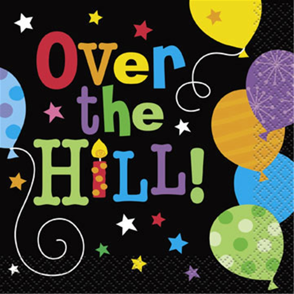 Clipart over the hill - .