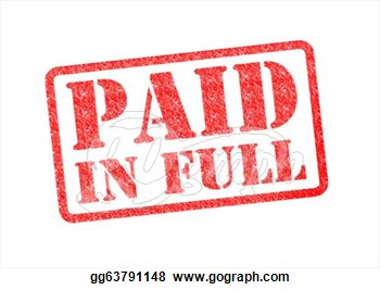 Clipart Paid In Full Red .-Clipart Paid In Full Red .-4