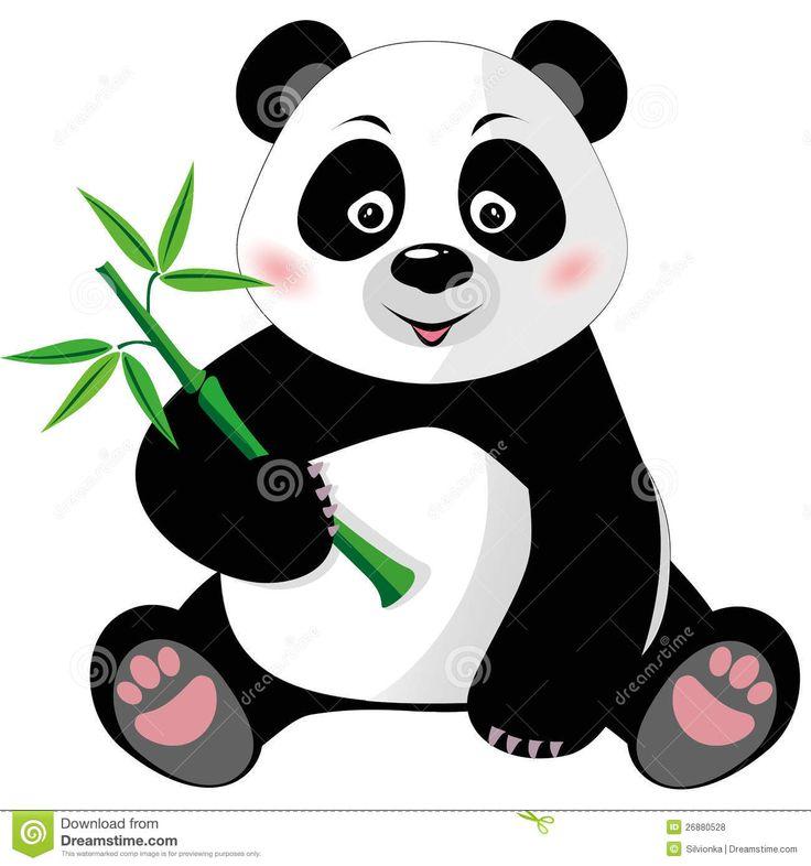 cute panda bear clipart