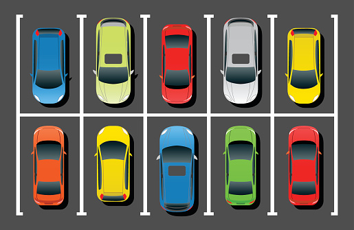 Clipart Parking Lot - .-Clipart parking lot - .-0