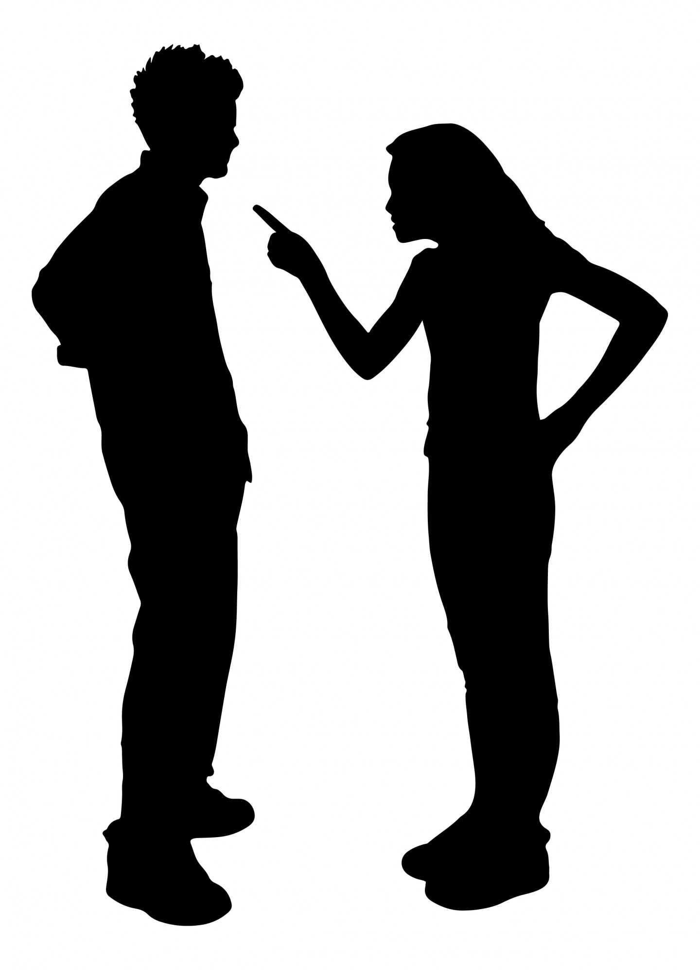 Clipart people arguing - .