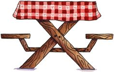 Clipart Picnic Table 5 Jpg More Picnic Clipart Clip Summer Picnic