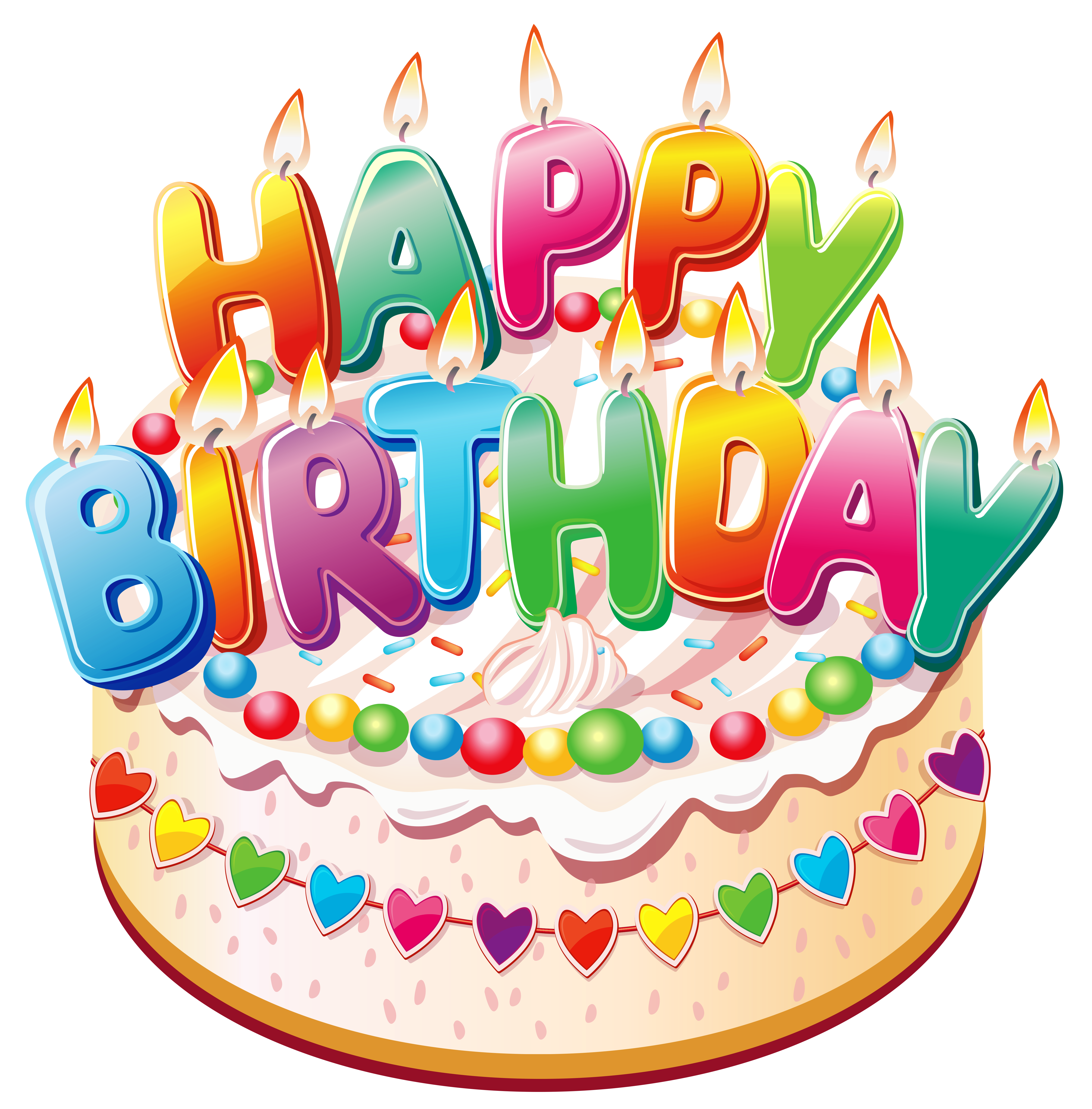 Clipart pictures of birthday .