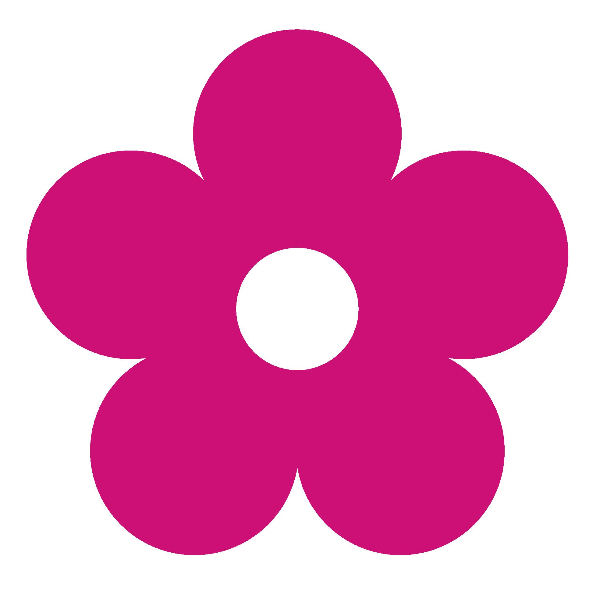 Clipart Pink Flower-clipart pink flower-1