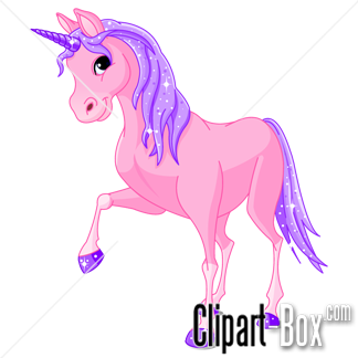 CLIPART PINK UNICORN - Unicorn Clip Art
