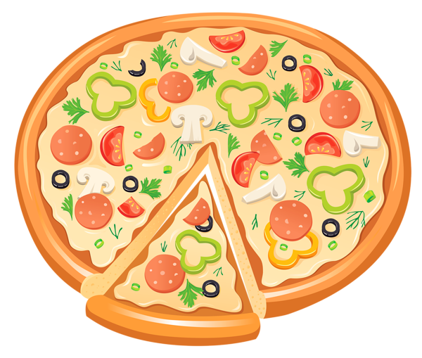 Clipart pizza free clipart .