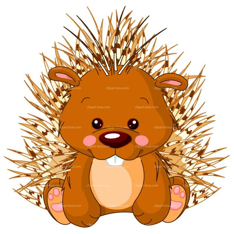 Porcupine Clipart