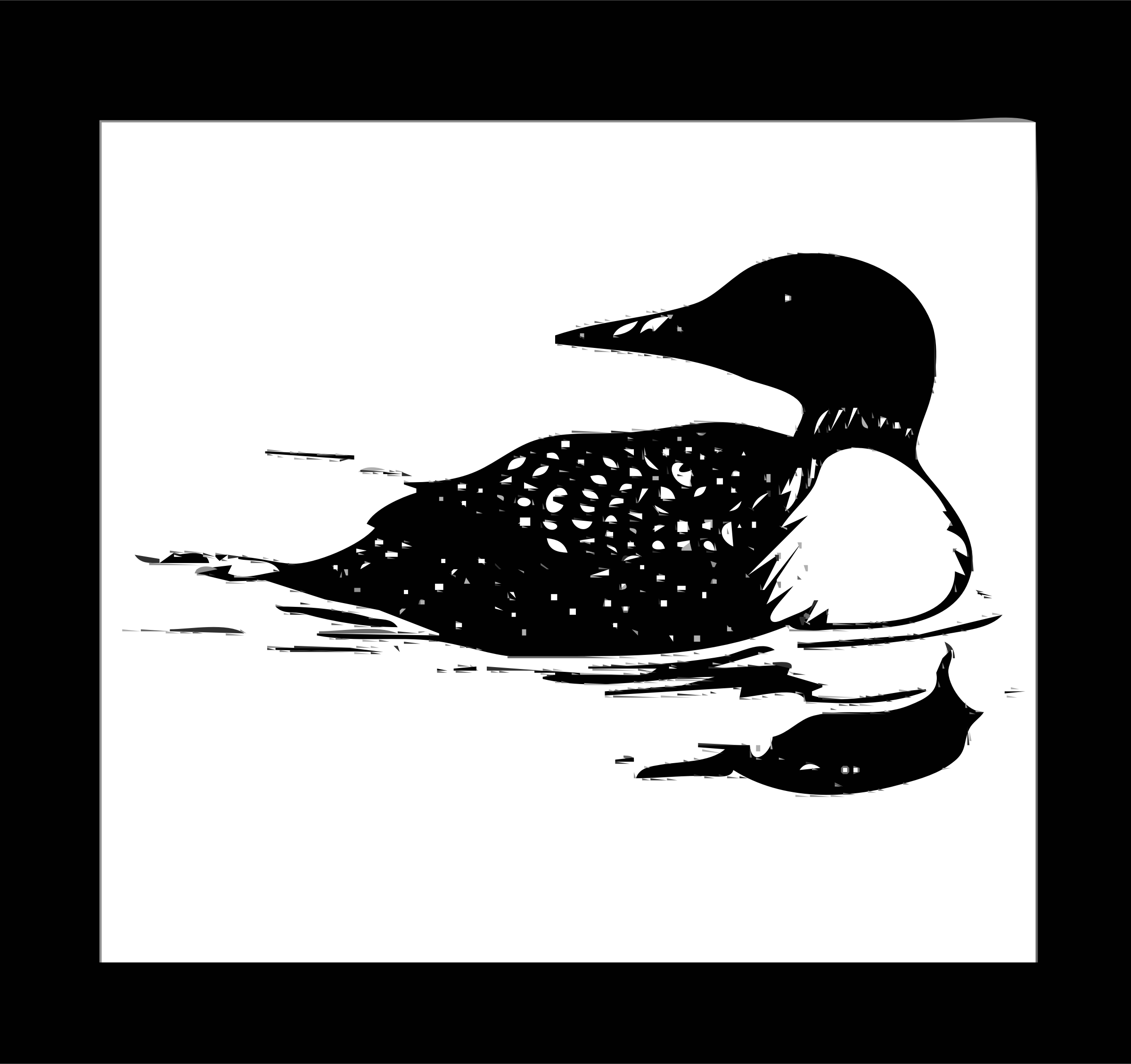 Clipart Postal Service Stamp Loon-Clipart Postal Service Stamp Loon-0