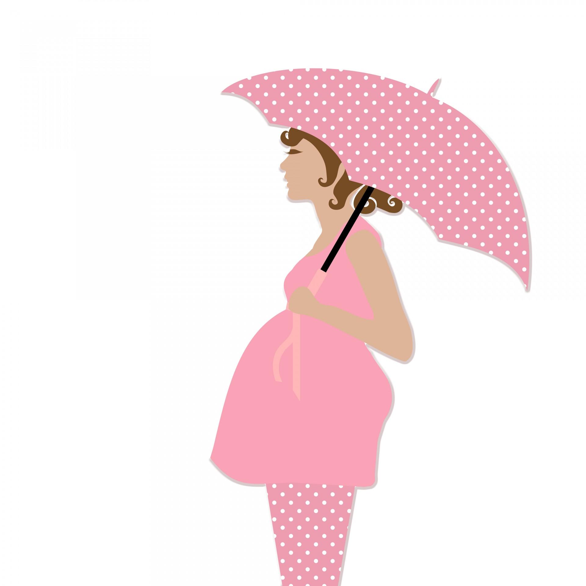 Clipart Pregnant Woman .