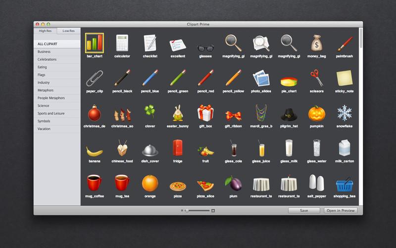 Clipart Prime Mac Informer: Screenshots