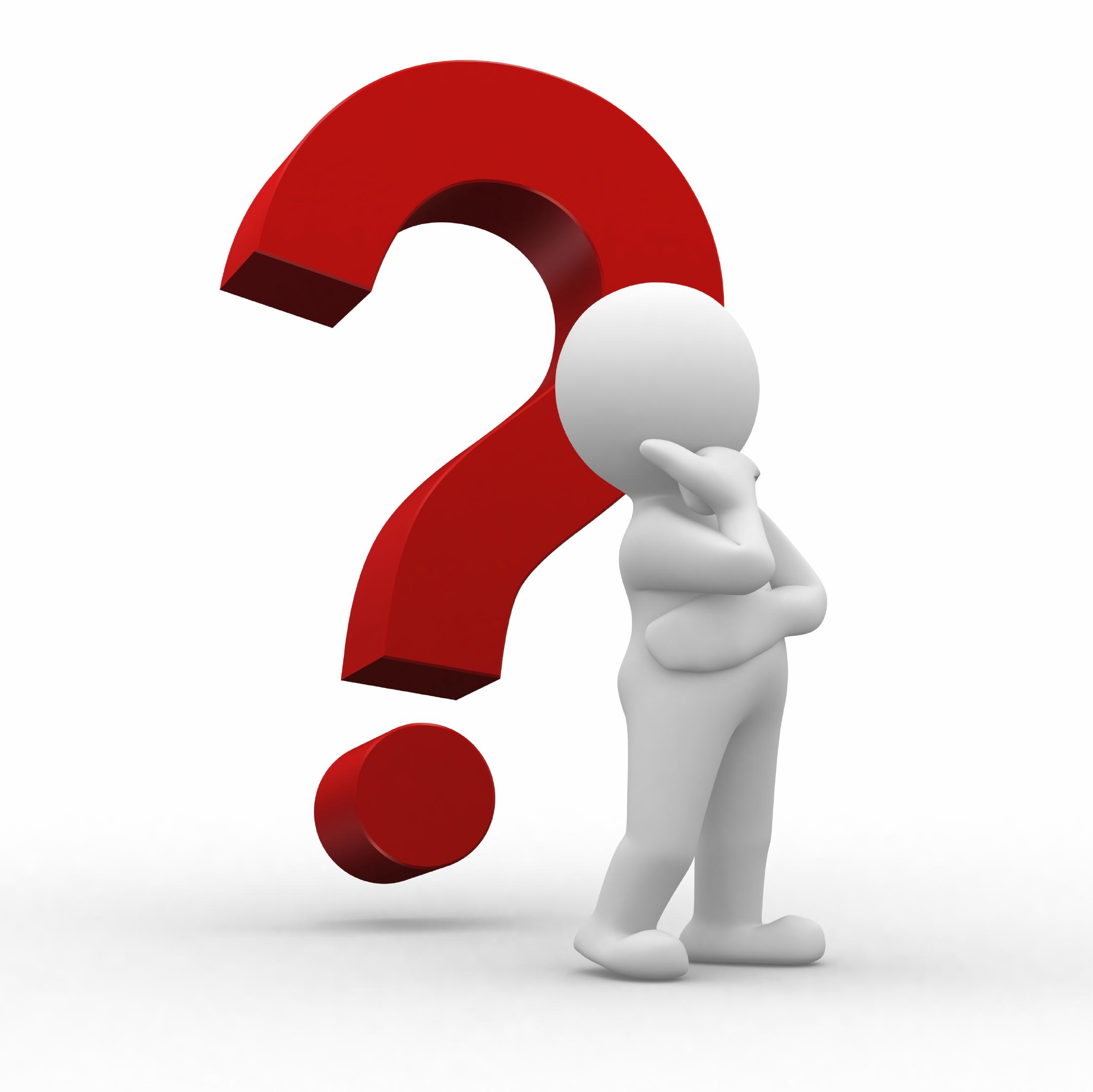 Clipart Question Mark 3d - Question Mark Clipart