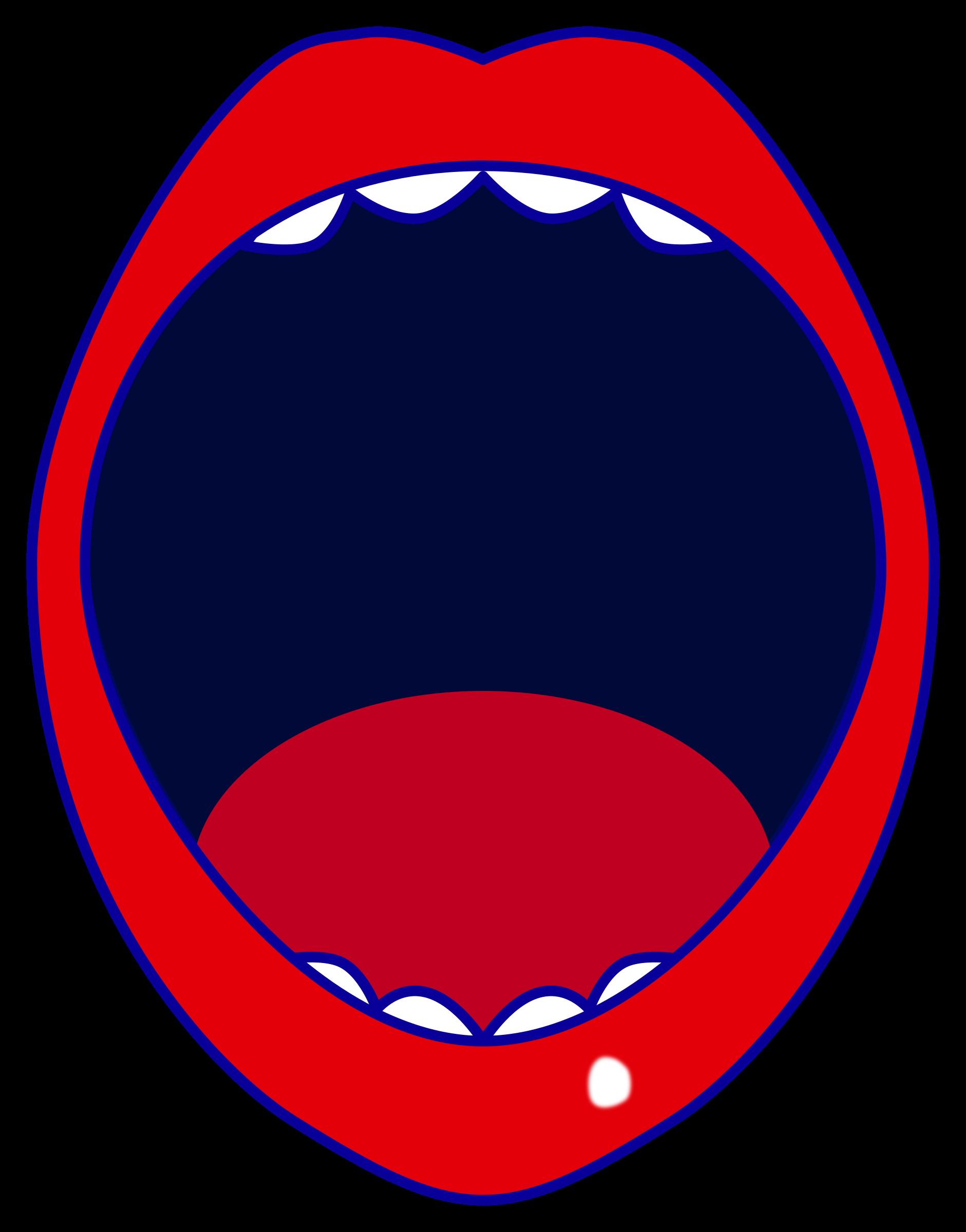 Clipart Red Open Mouth-Clipart red open mouth-3
