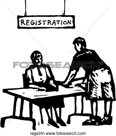 Clipart - Registration.-Clipart - Registration.-3