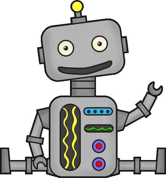 Clipart robot clipart image