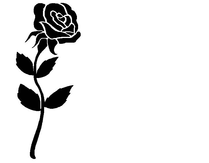 Clipart Rose Black And White Clipart Pan-Clipart Rose Black And White Clipart Panda Free Clipart Images-18