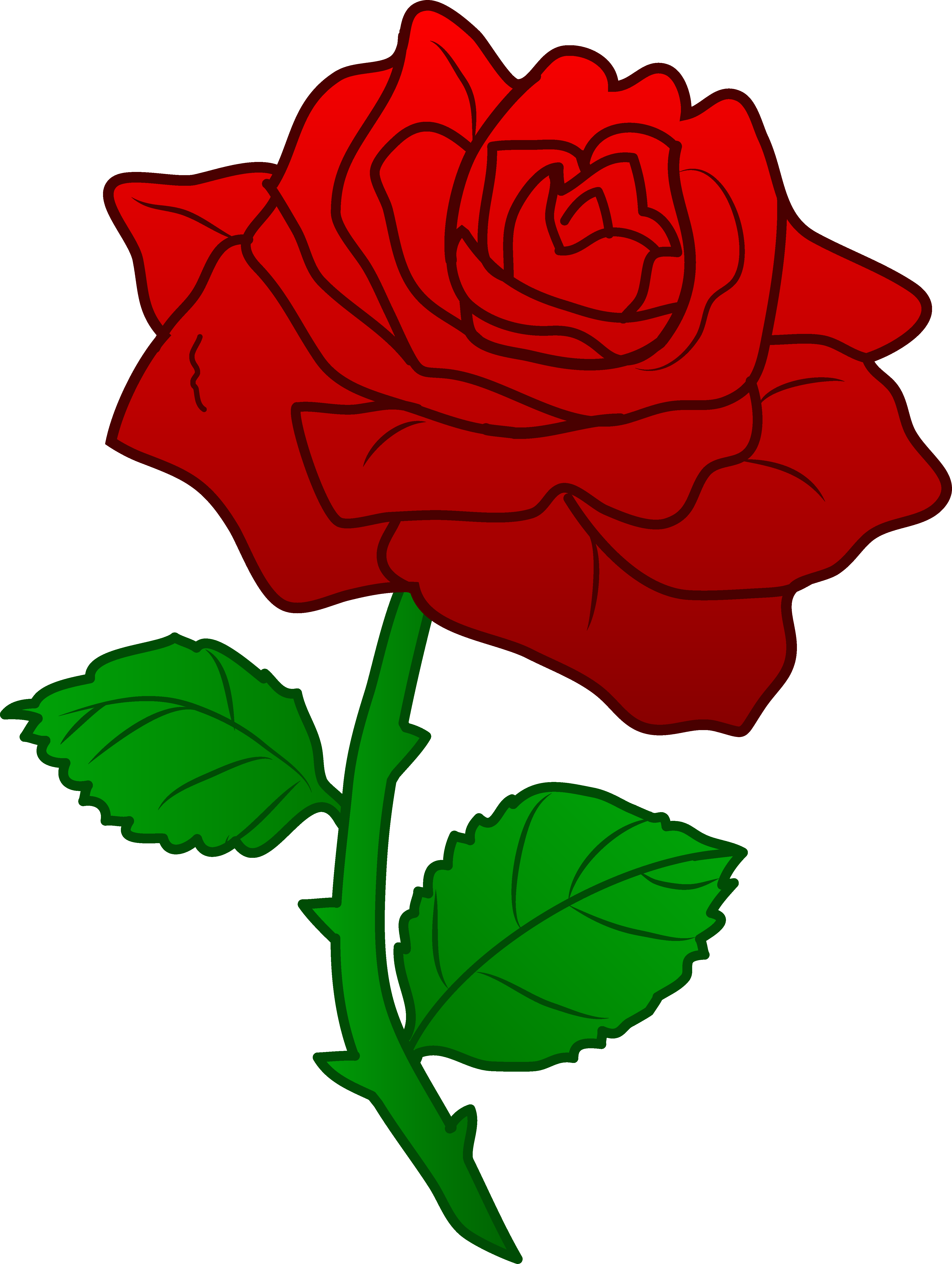 Clipart Rose-clipart rose-3