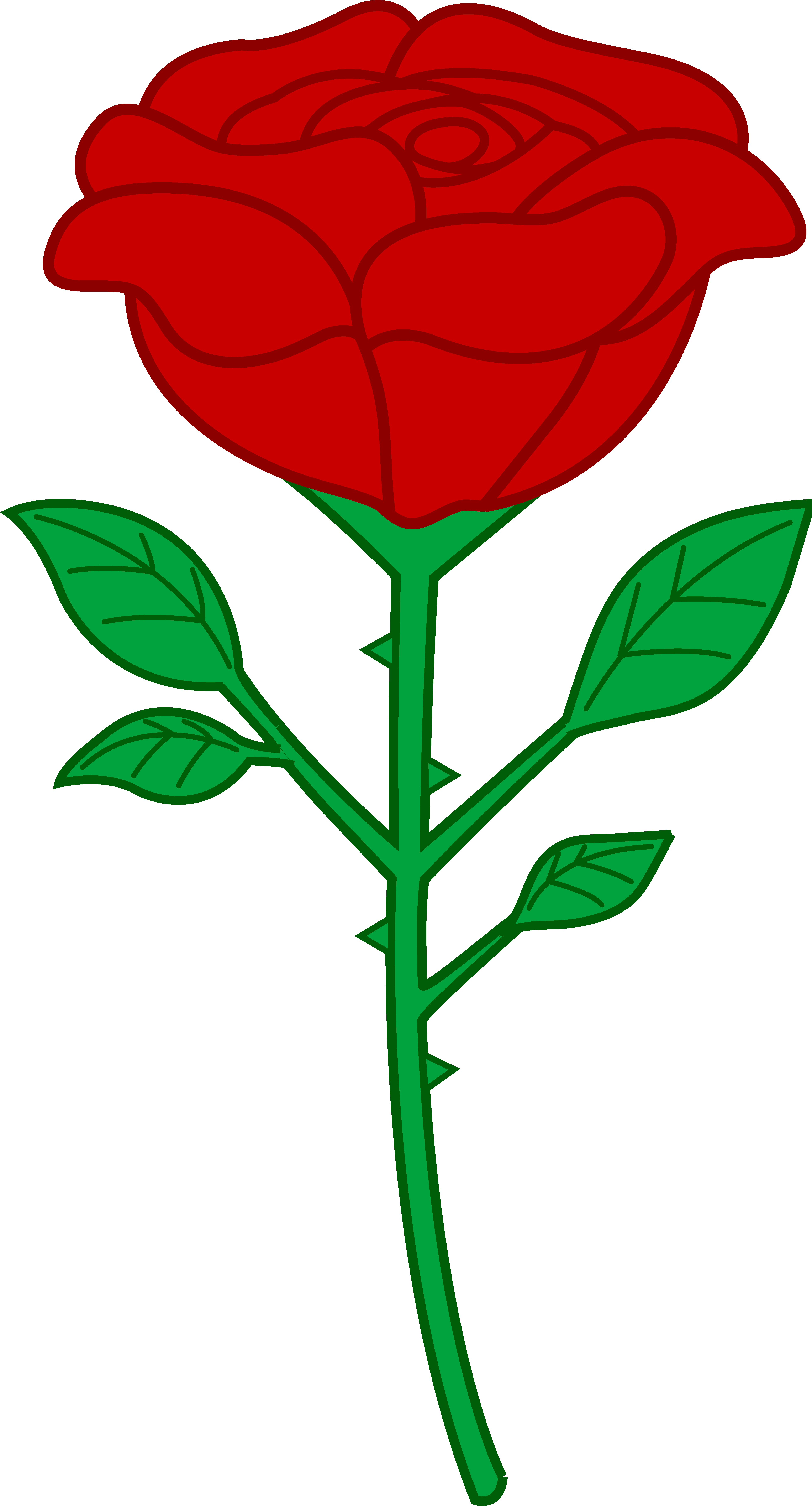 clipart rose - Clipart Roses
