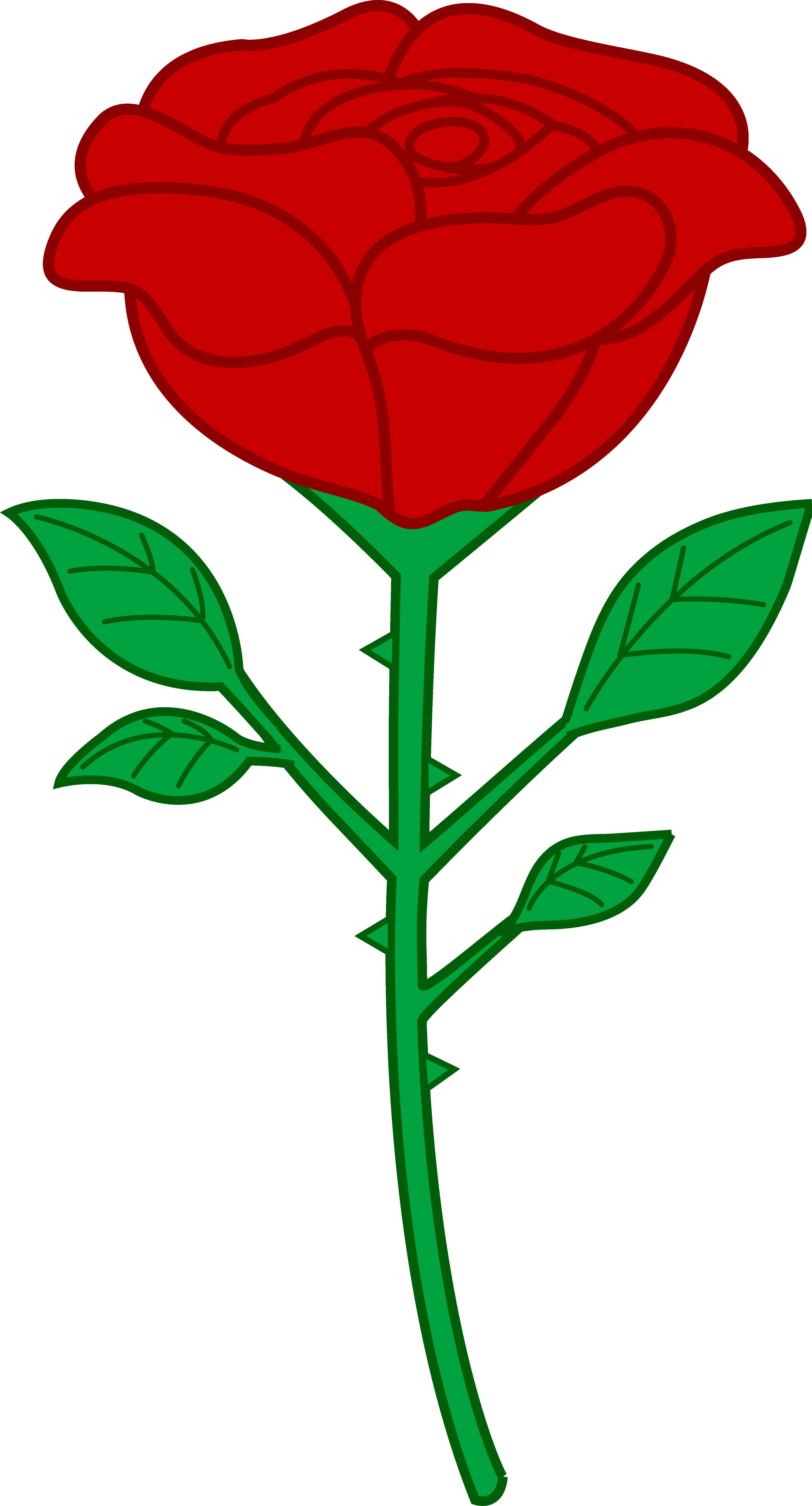 Rose Clip Art Images