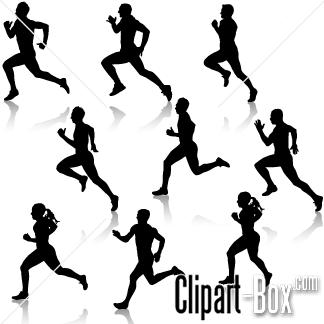 CLIPART RUNNERS-CLIPART RUNNERS-4