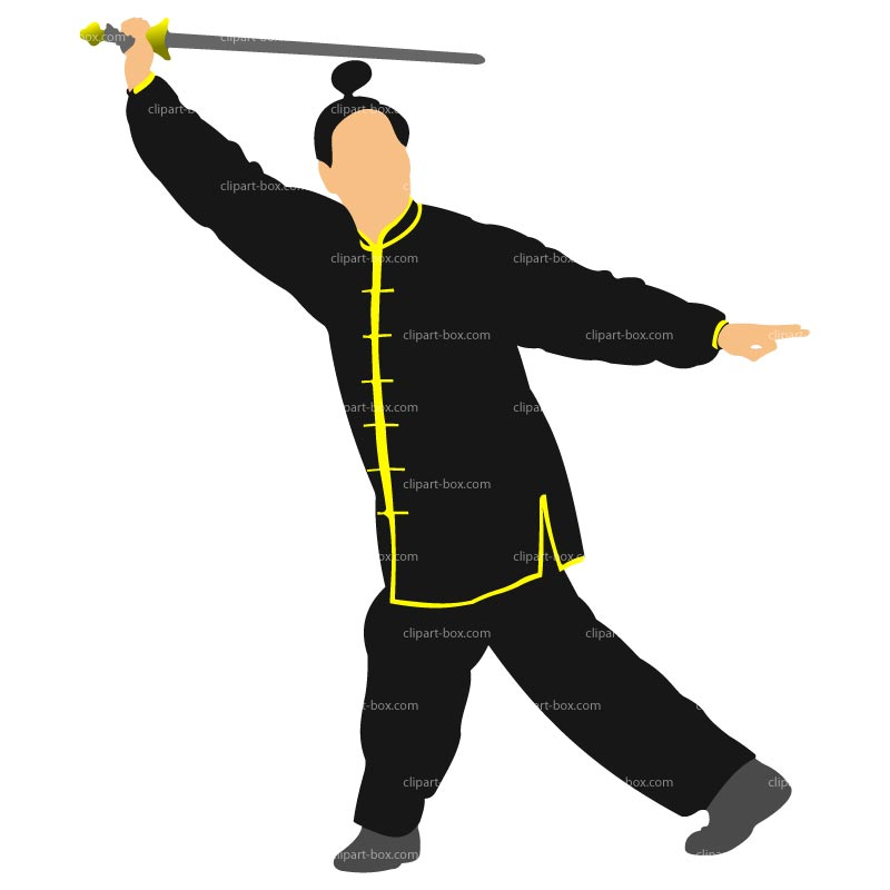 Clipart Samurai Warrior Royalty Free Vector Design