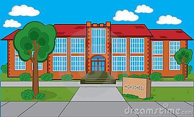 Clipart School Building Free 1