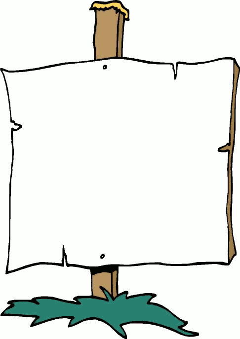 Clipart Sign-Clipart Sign-7