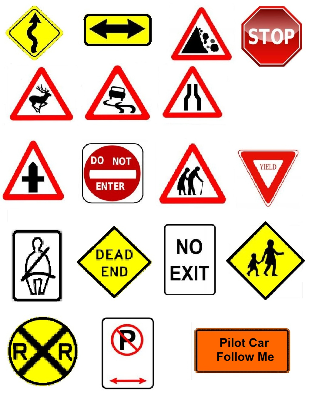 Clipart Signs
