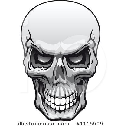 Clipart skulls free - ClipartFest