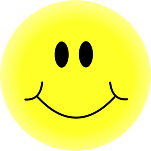 clipart smiley face - Happy Faces Clipart
