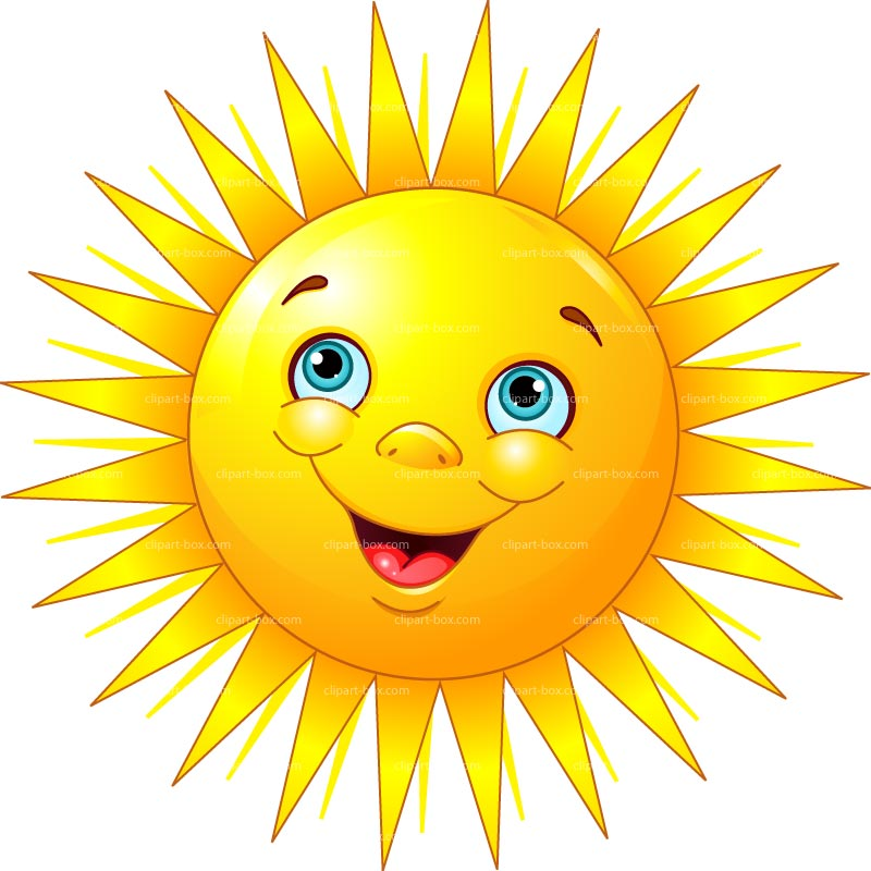 25 smiling sun clipart clipartlook