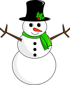 Clipart Snowman ...