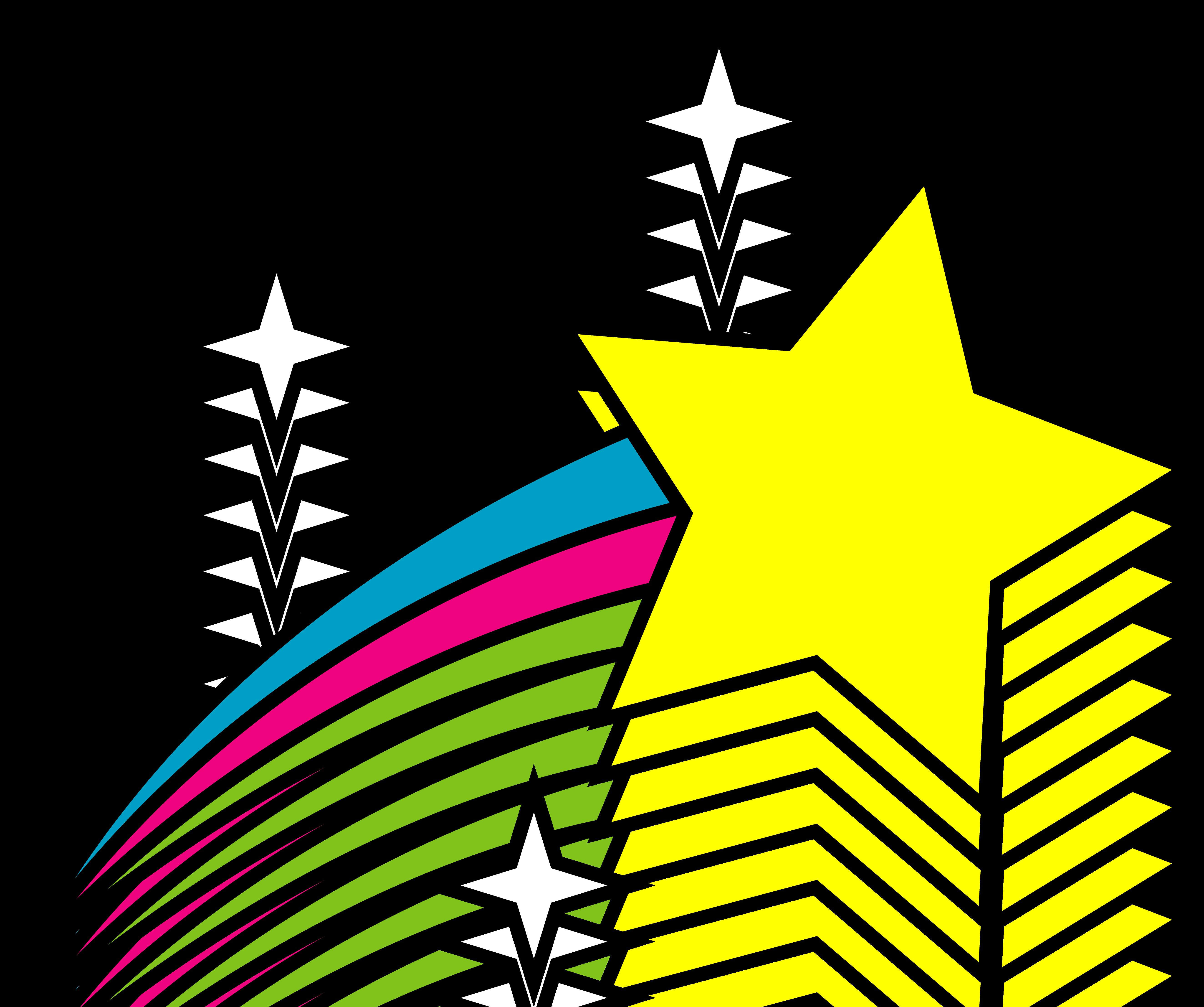 Shooting Stars Clip Art