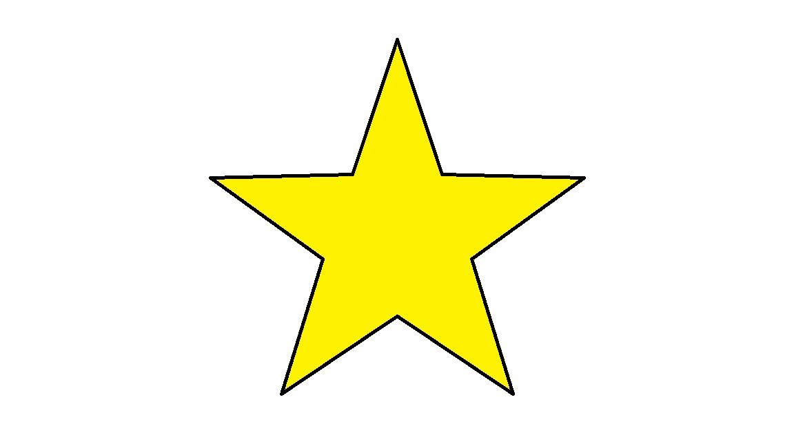 clipart star - Yellow Star Clip Art