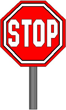 Clipart Stop