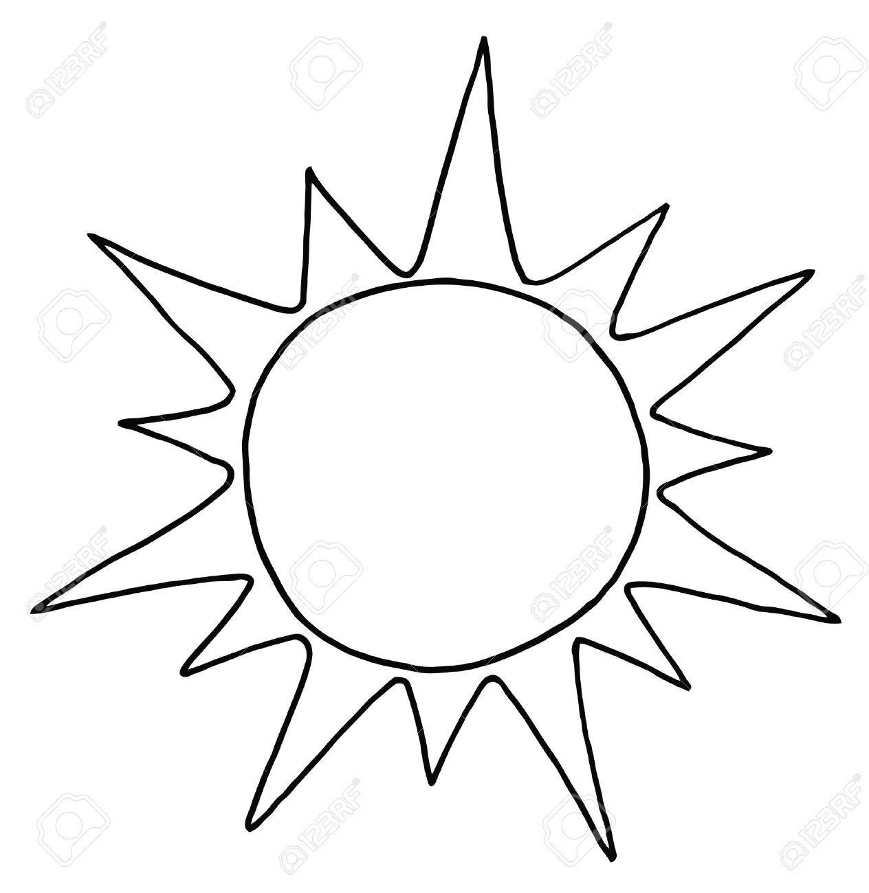 Clipart Sun Black And White - .-Clipart sun black and white - .-3