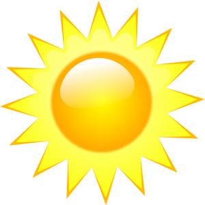 clipart sun
