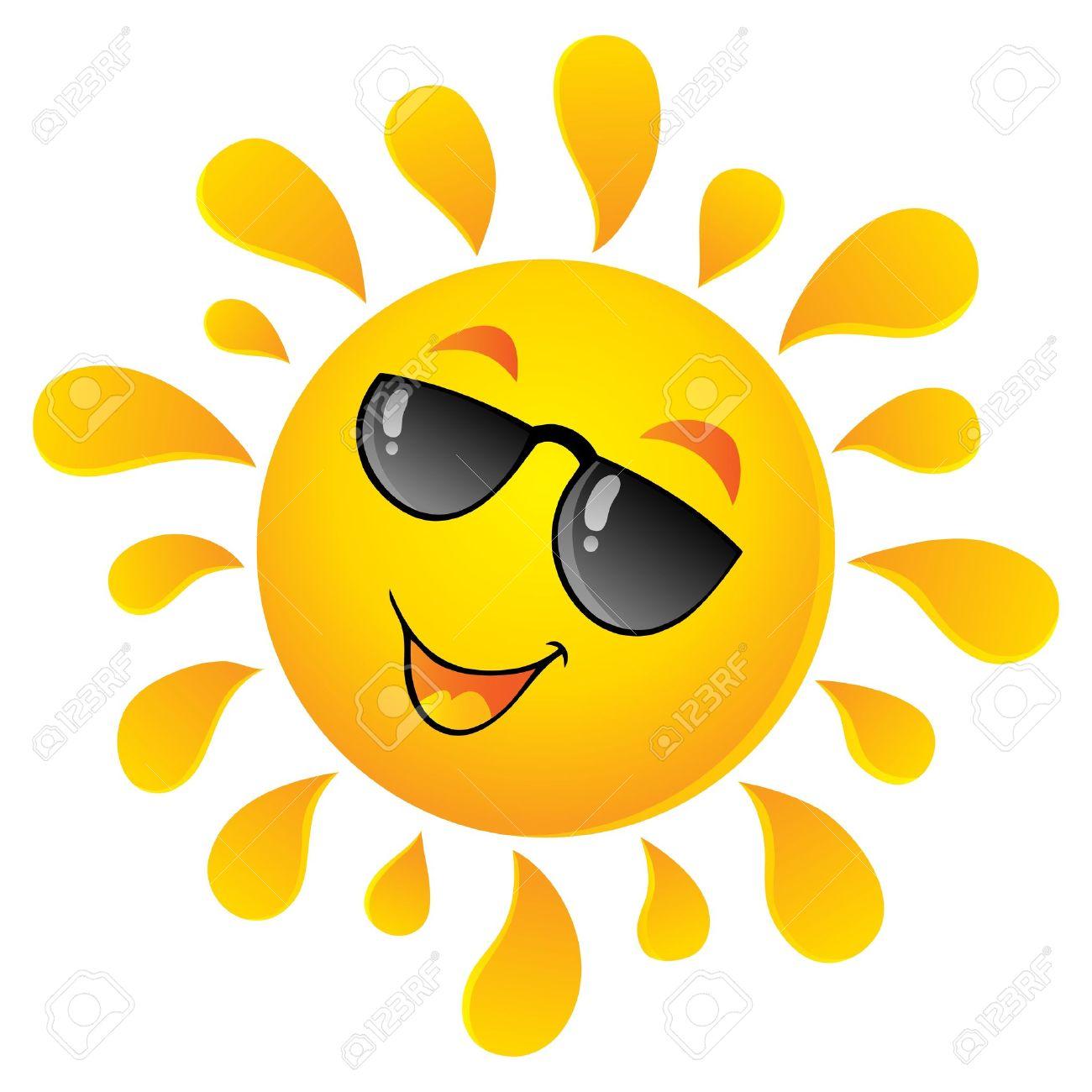 clipart sunshine: Sun theme
