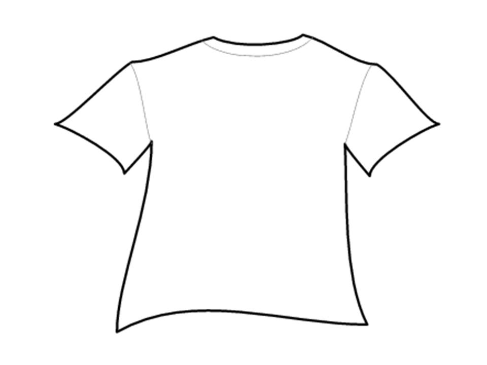 Clipart T Shirt Outline. T Shirt Outlines